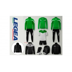Box Legea Set F35 - Verde-Nero